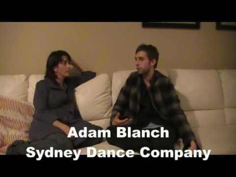 ADAM BLANCH GETS ON THE COUCH