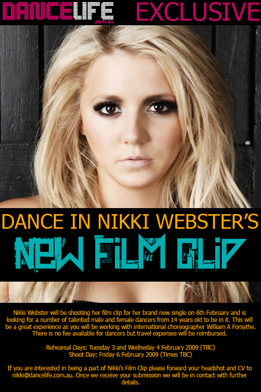 DANCE IN NIKKI WEBSTERS NEW FILM CLIP