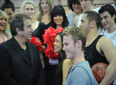 Kenny Ortega Visits rehearsals for HIGH SCHOOL MUSICAL