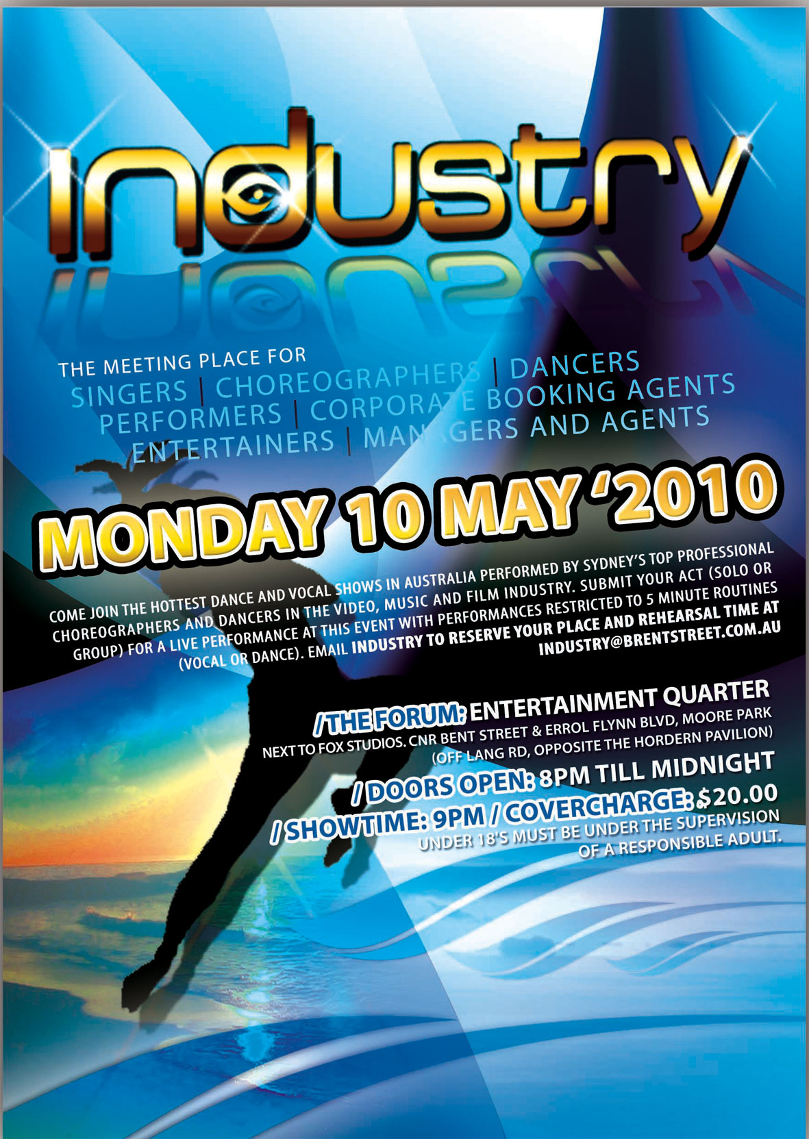 DANCE AT INDUSTRY SYDNEY