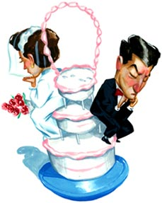 DANCERS DOOMED IN MARRIAGE