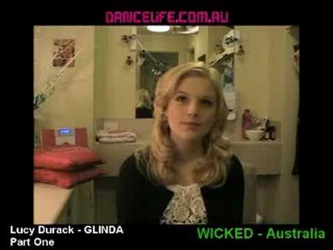 Lucy Durack - Glinda in WICKED Australia