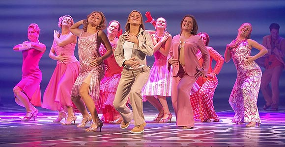 MAMMA MIA IS A SUPER TROUPER