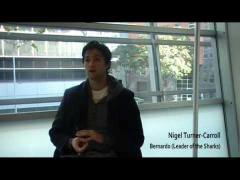 Nigel Turner-Carroll from West Side Story