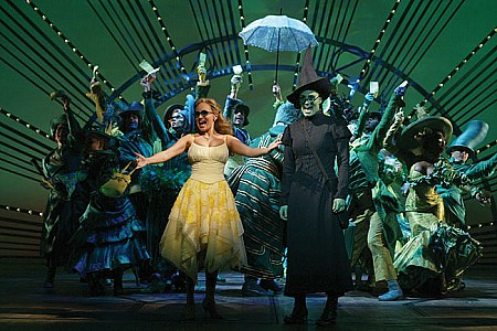 WICKED SINGS 'WE'RE IN THE MONEY'