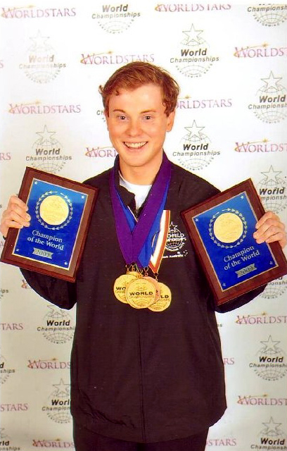 YOUNG AUSSIE CLEANS UP AT WORLD PERFORMING ARTS CHAMPIONSHIPS
