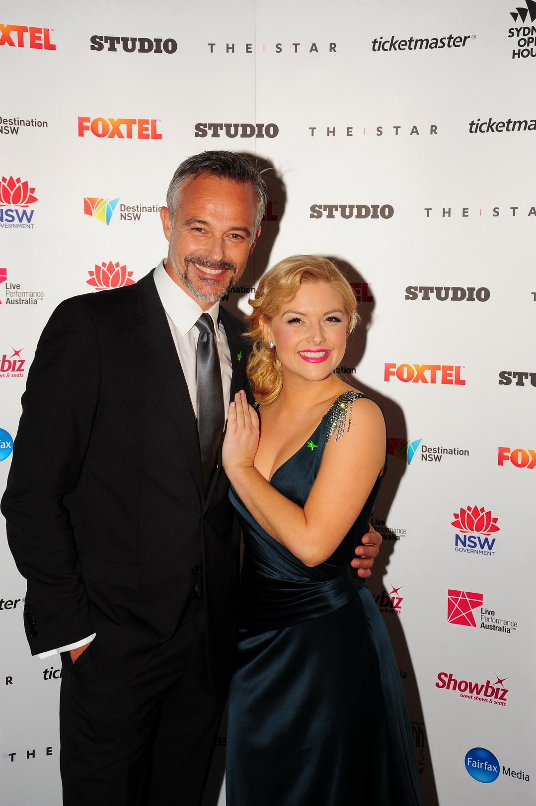Helpmann Awards - Cameron Daddo and Lucy Durack Helpmann Awards Photo James Morgan _7460
