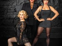 CHICAGO Australian cast NATALIE BASSINGTHWAIGHTE, CASEY DONOVAN, & ALINTA CHIDZEY. Photo by Peter Brew-Bevan