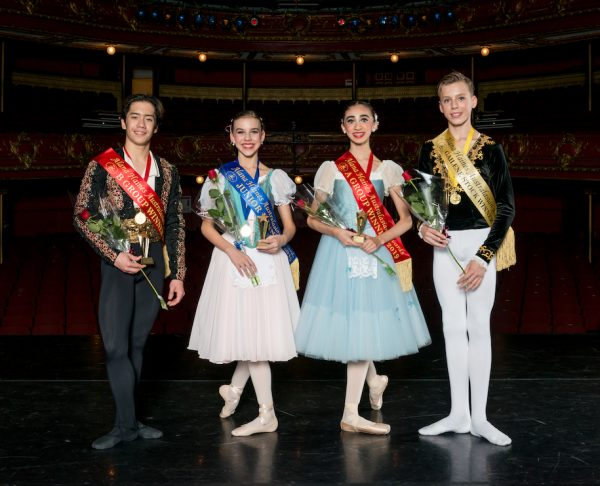 AHA Awards 2019 Winners: Rench Soriano, Lily Sophia Dashwood, Kohana Williams and Alfie Shacklock. Images by Amber Griffin