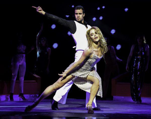 Euan Doide, Melanie Hawkins in Saturday Night Fever CREDIT HEIDI VICTORIA
