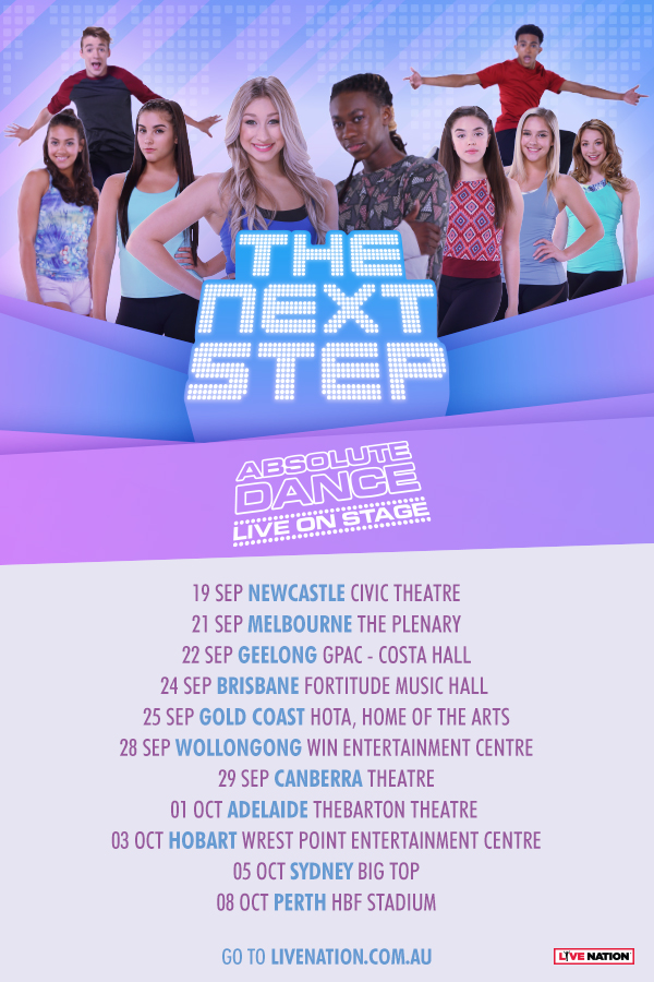 The Next Step Absolute Dance 2019 Australian Tour | Dance Life