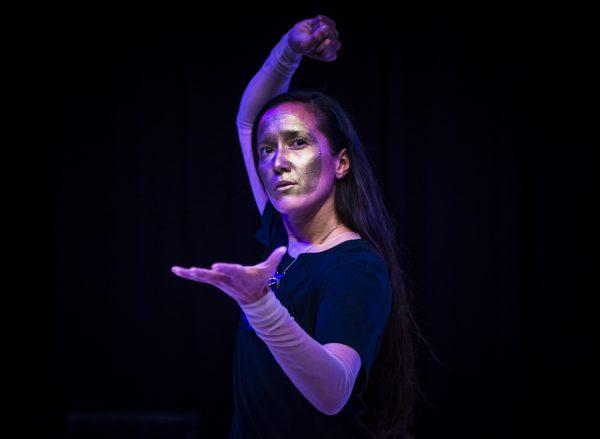 Winner of the 2018 Keir Choreographic Award Melanie Lane. Photo by Gregory Lorenzutt